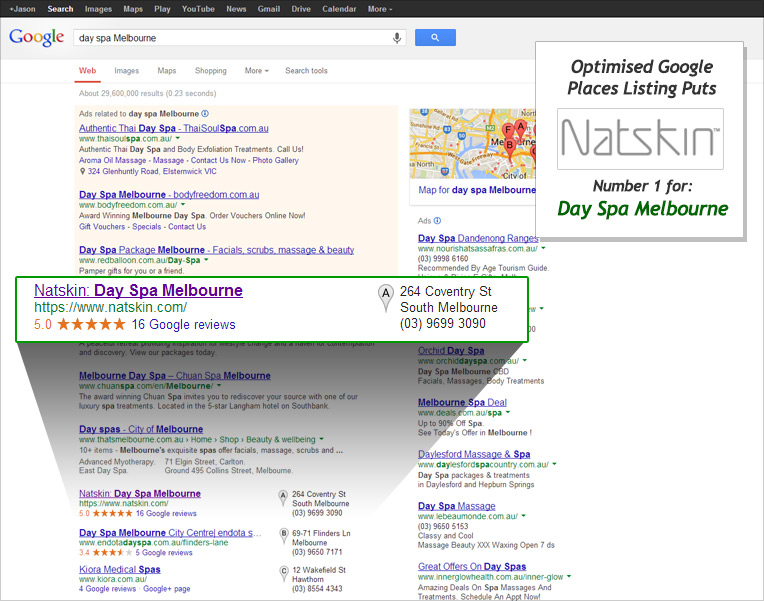google places optimisation australia Google Places Optimisation (Local SEO)