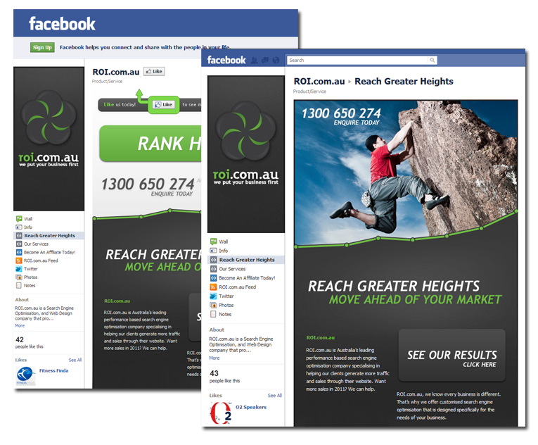 fb roi Facebook Optimisation