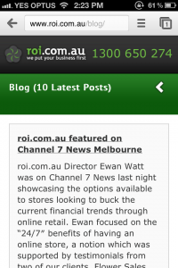 roi.com .au mobile site blog 200x300 Rise in Mobile Search for roi.com.au During TV Piece