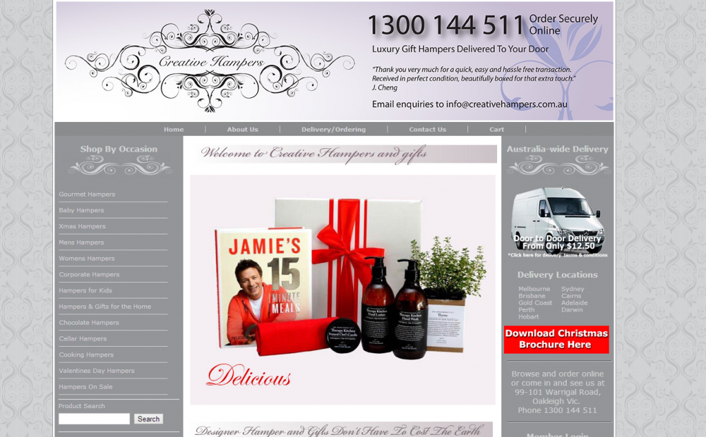 creative hampers