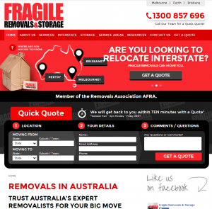fragile removals