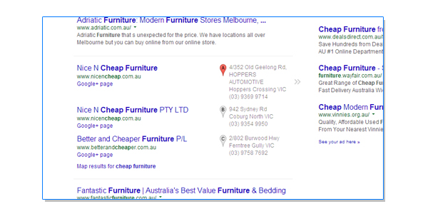 serp cheap furniture